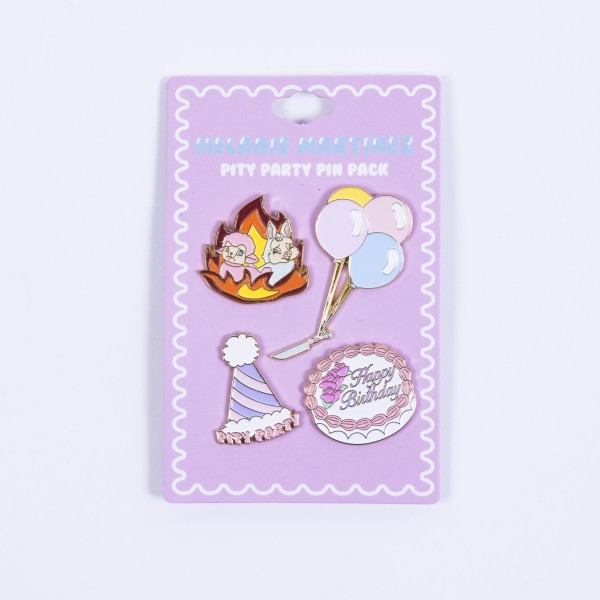 Pity Party Pin Pack