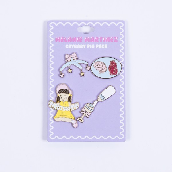 Crybaby Pin Pack