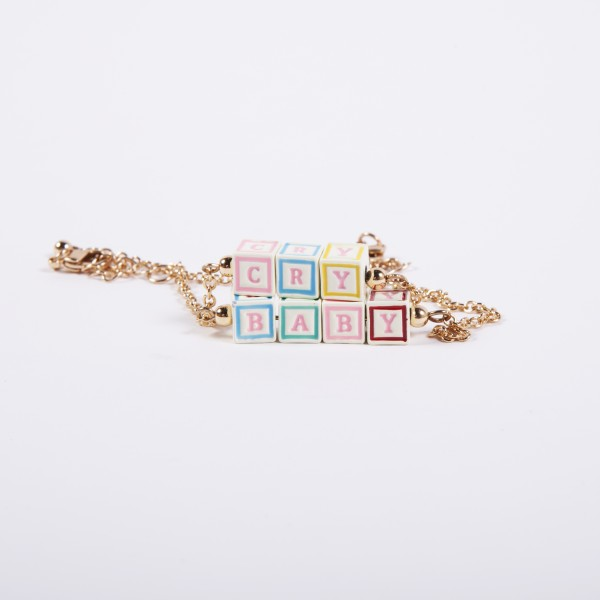 Crybaby Blocks Bracelet