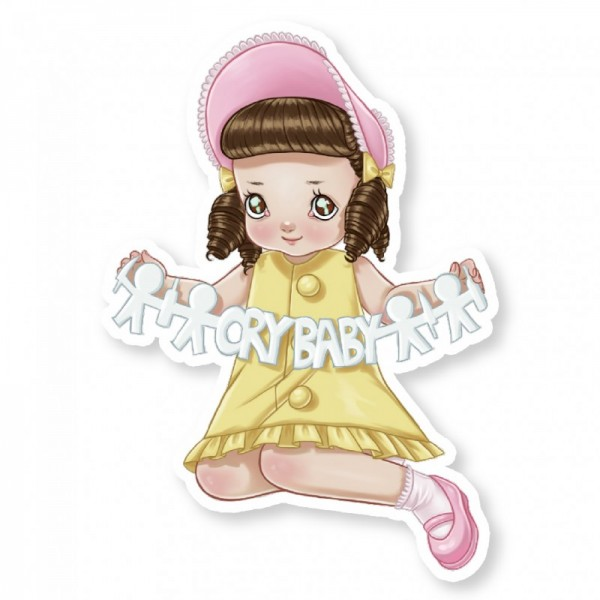 Melanie Martinez Paper People Sticker