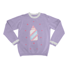 Baby Blue Glue Sweater