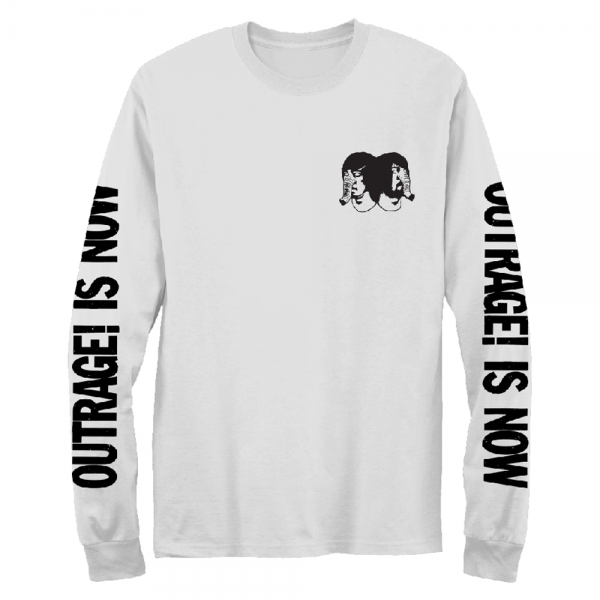 Death From Above 1979 Outrage! Is Now Long Sleeve T-shirt