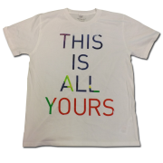This Is All Yours 2014 Tour Europe Slim Fit T-Shirt
