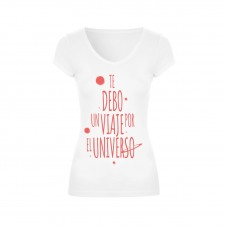 Te Debo Un Ladies T-Shirt