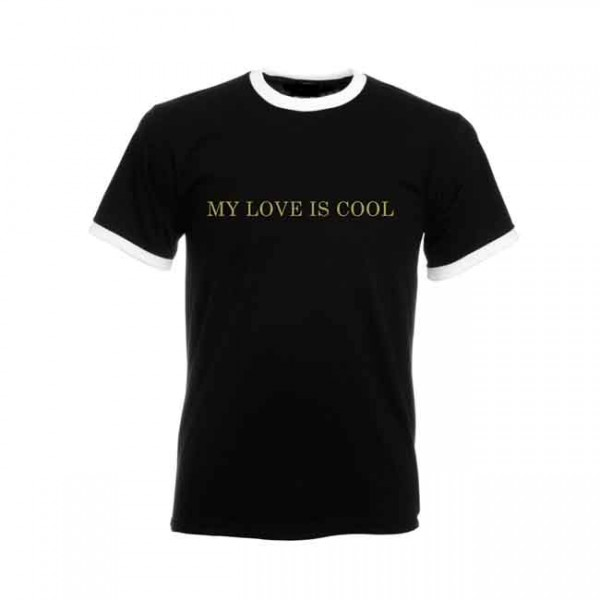 My Love Is Cool Ringer T-Shirt