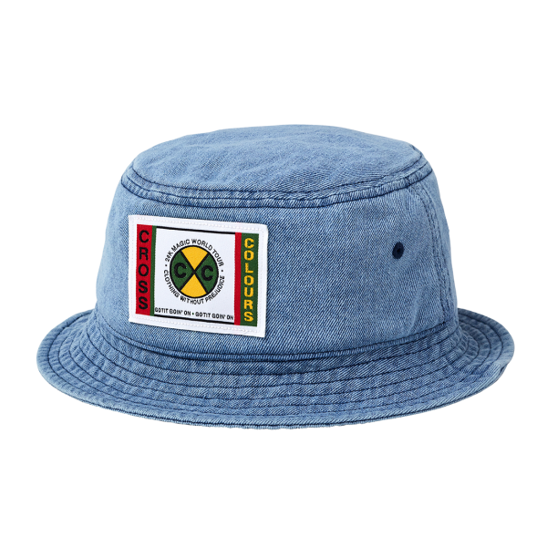 24K CxC Patch Denim Bucket Hat