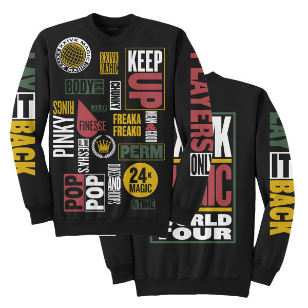 World Tour Crewneck