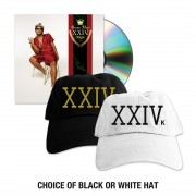 Bruno Mars - 24k Magic CD + Hat Bundle