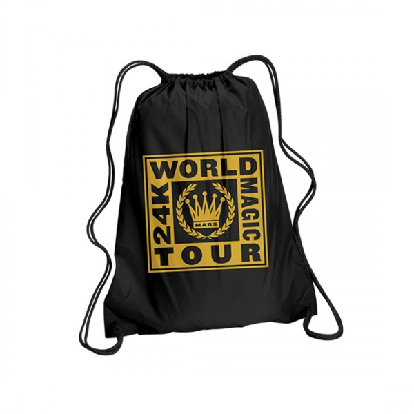 Crest Drawstring Backpack