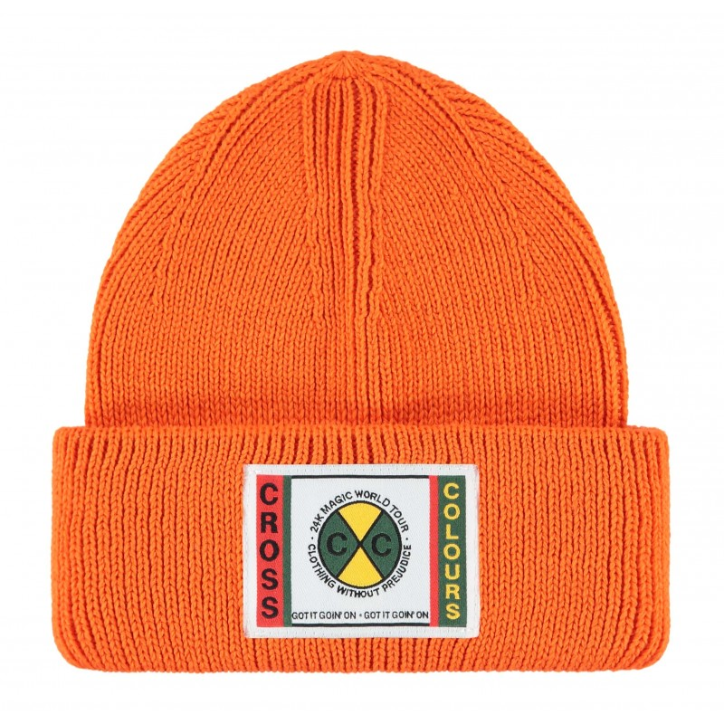 24K CxC Patch Beanie (Orange)