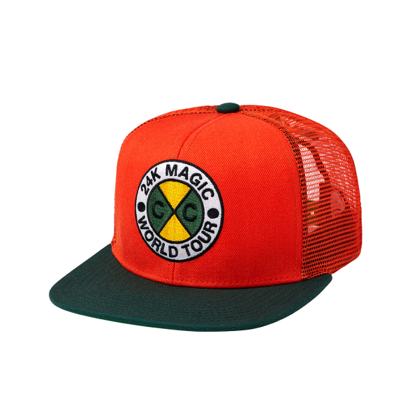 24K CxC World Tour Snapback (Orange)