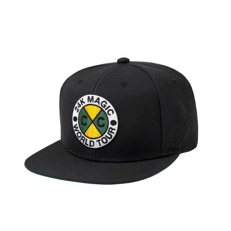 24K CxC World Tour Snapback (Black)