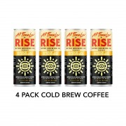 4 Pack RISE Nitro Cold Brew Coffee