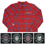 All Time Low Vintage Flannel + Patch Bundle
