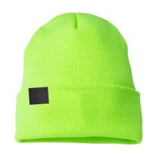 Outline Sunshine Safety Green Beanie