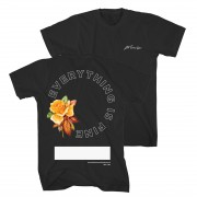 Everything is Fine Floral T-Shirt