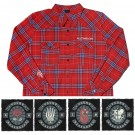 Vintage Flannel + Patch Bundle