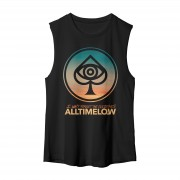 All Time Low Spade Gradient Muscle Tank