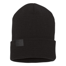 Outline Sunshine Black Beanie