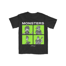 Monsters Square T-Shirt (Apparel)