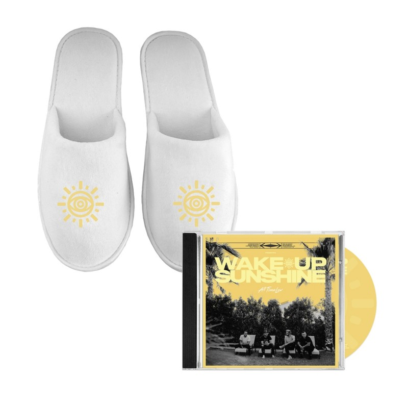 Sunshine Mens Slippers + CD