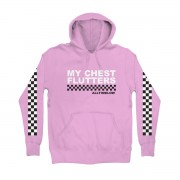 Checkered Hoodie (Lavender
