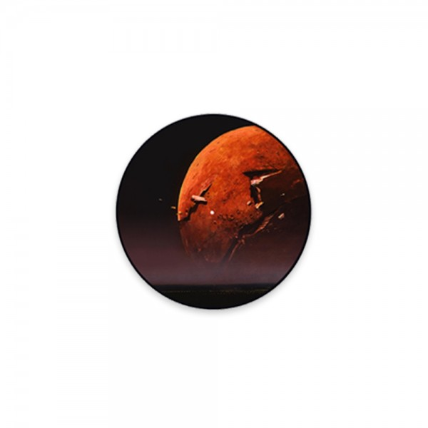 Red Moon Vinyl Slipmat