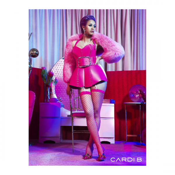 Cardi In Pink Photo Poster