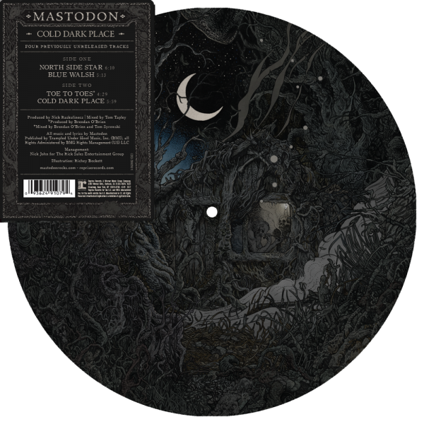 "Mastodon Cold Dark Place 10"" Picture Disc"