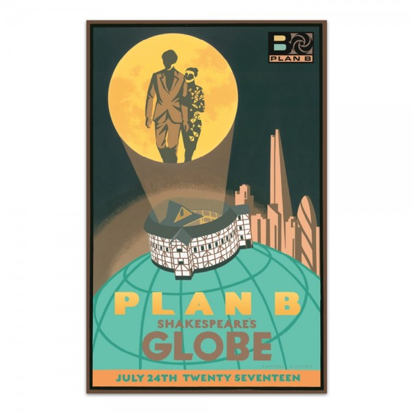 Plan B - Globe Event Screen Print - Limited Edition