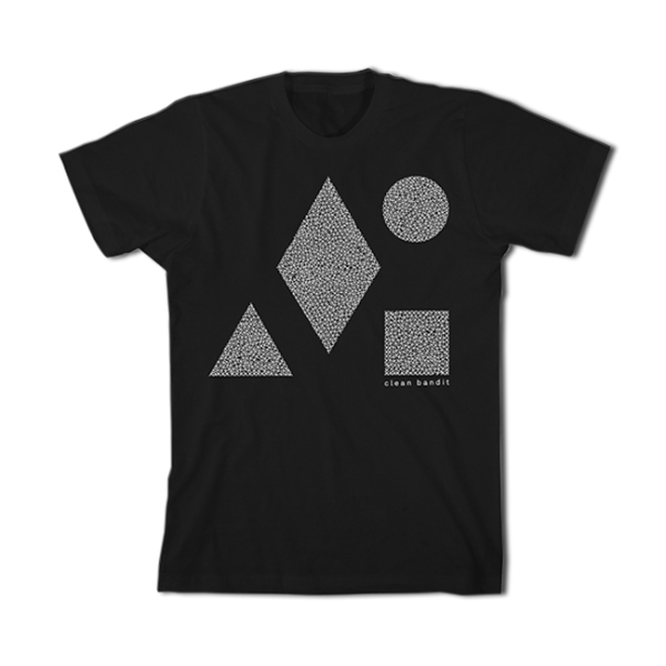 CLEAN BANDIT Speckle Shapes Tee