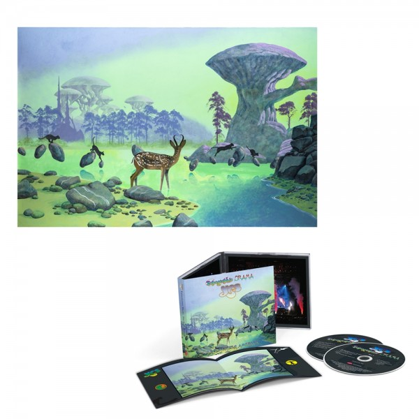 Yes | Topographic Drama: 2CD + Signed Print | Official Store