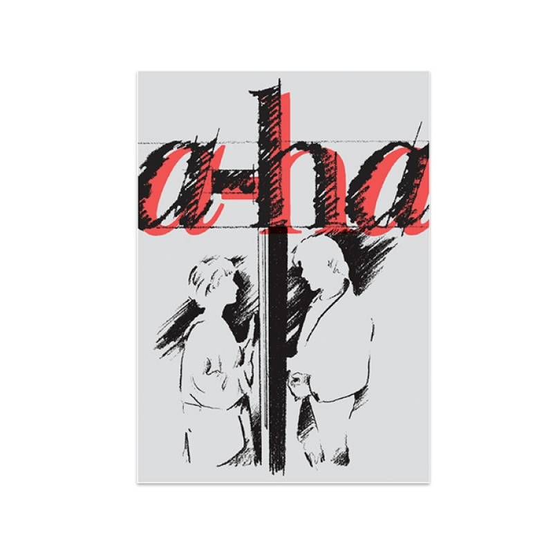 a-ha Screenprint