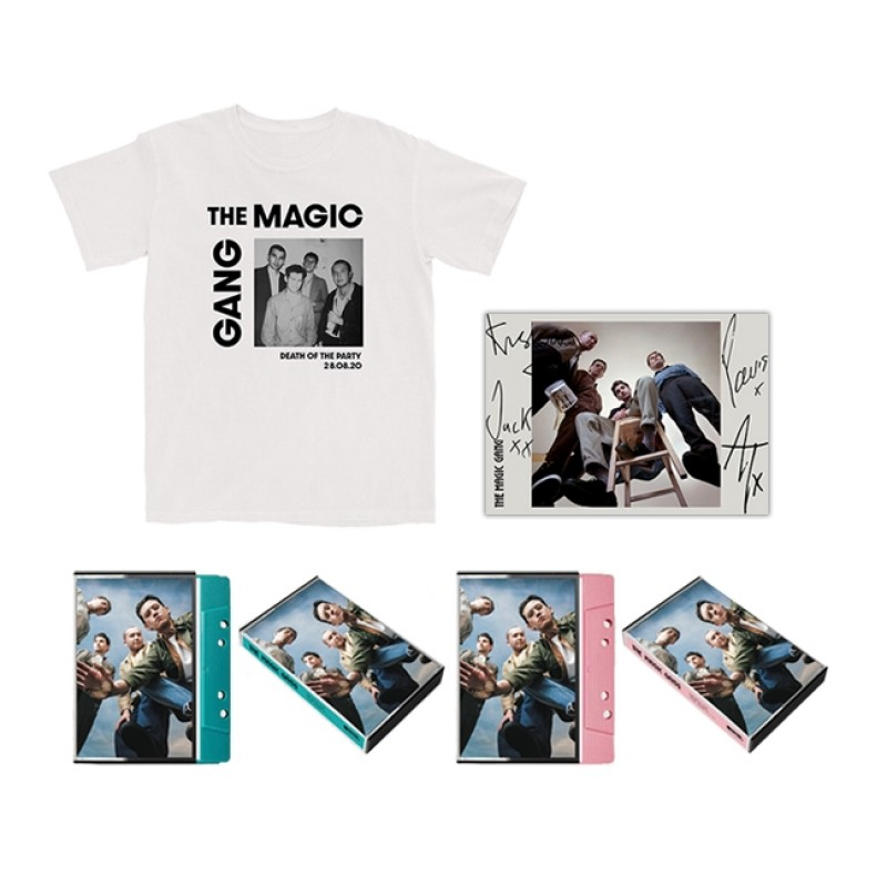 The Magic Gang Photo T-shirt + Double Cassette + Signed Art Card