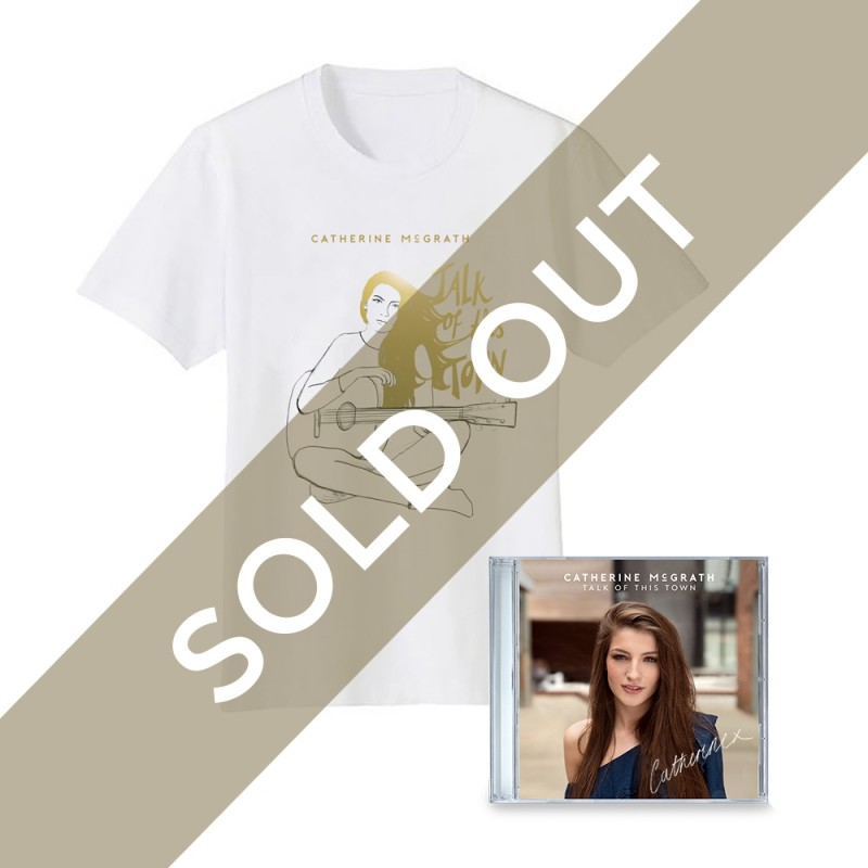 Talk Of This Town Signed CD + T-Shirt Sold Out