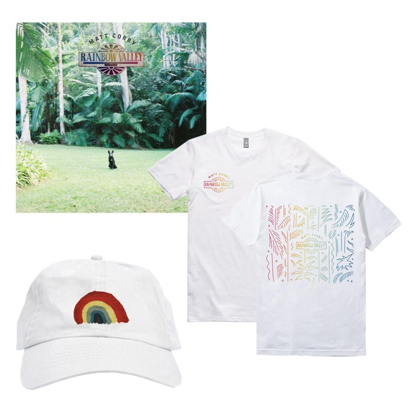 Rainbow Valley T-Shirt + Cap Bundle