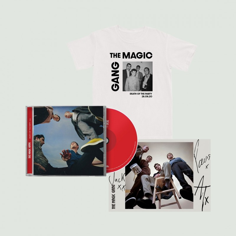 The Magic Gang Photo T-Shirt + CD + Signed Art Card