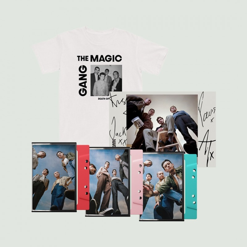 The Magic Gang Photo T-Shirt + Triple Cassette + Signed Art Card