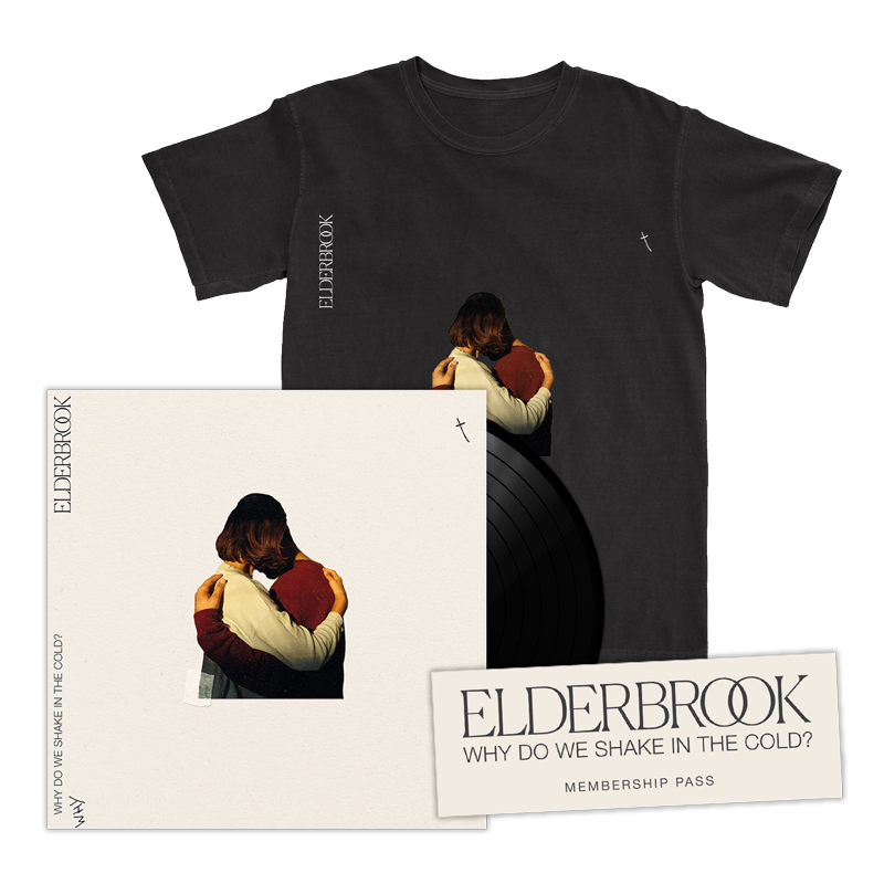 Why Do We Shake In The Cold? Signed Vinyl Album + T-Shirt + 2020 Membership Pass
