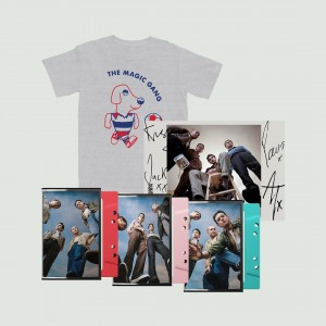 The Magic Gang Dog T-shirt + Triple Cassette + Signed Art Card
