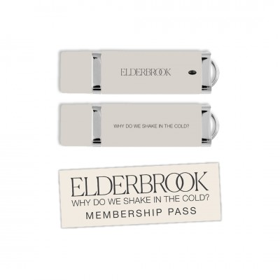 Why Do We Shake In The Cold? USB Album + 2020 Membership Pass