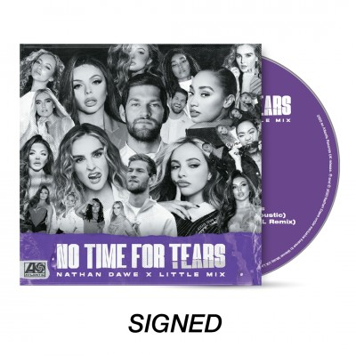 No Time For Tears Signed CD (Bundle)
