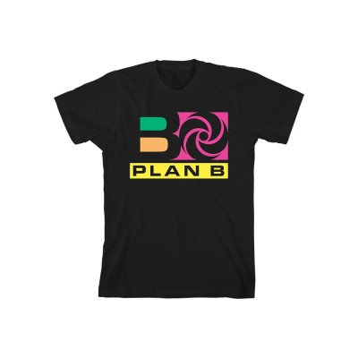 Plan B Black Unisex T-Shirt