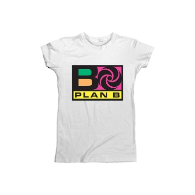 Plan B Ladies White T-Shirt