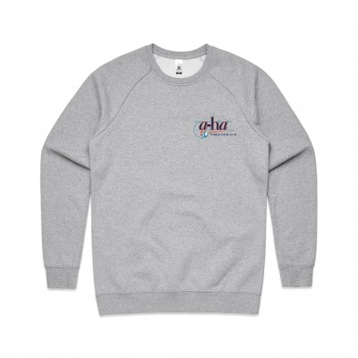 Retro World Tour Sweatshirt Grey
