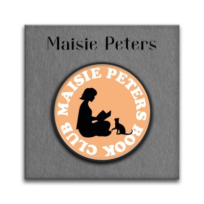 Maisie Peters Book Club Pin Badge