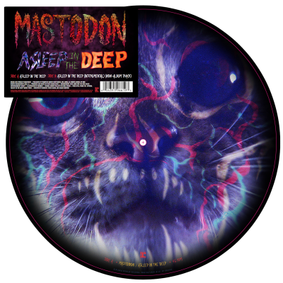 Mastodon Asleep In The Deep Picture Disc
