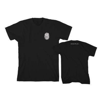 Thumbprint Black T-Shirt - Disciples Merchandise