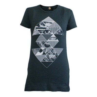 Ladies Eye Pyramid Juniors T-Shirt