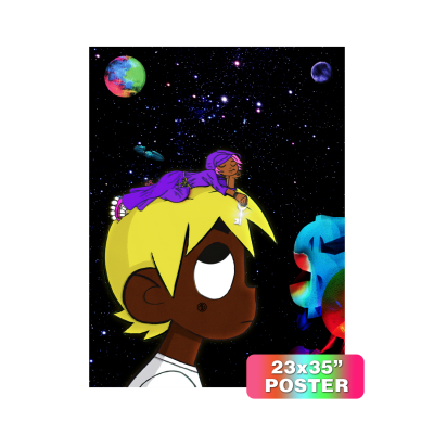 Eternal Atake Deluxe Cover Art Felt Poster
